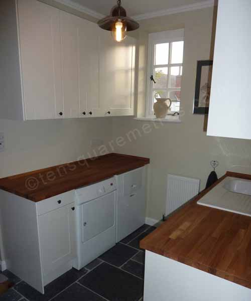 Self Build House Extension Completion Utility Room