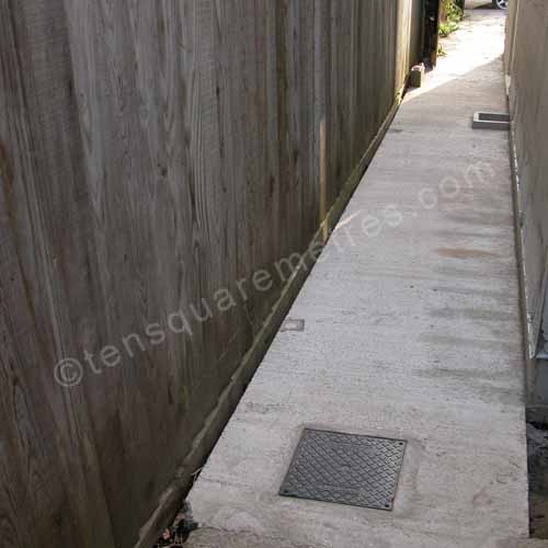 Self Build House Extension Drains Backfilling