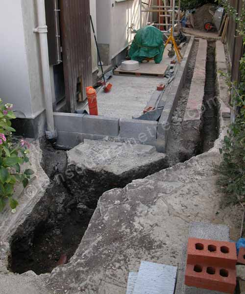 drains trench