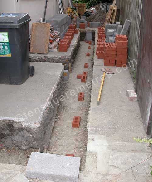 Self Build House Extension Groundwork Build