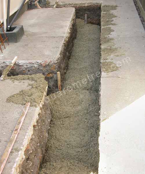 Self Build House Extension Groundwork Concrete