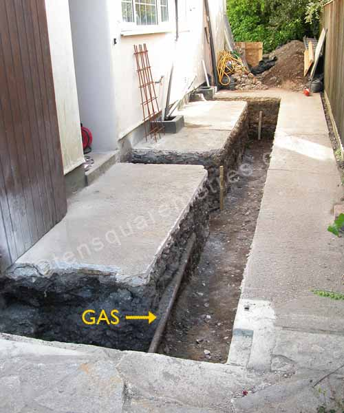 Self Build House Extension Groundwork Obstacles