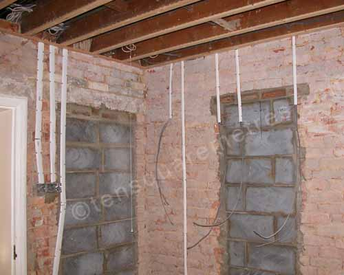 self build house extension kitchen wiring rh tensquaremetres com Old House Wiring Typical House Wiring Circuits