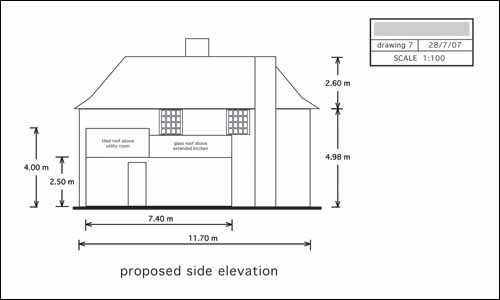 Self Build House Extension Planning Permission