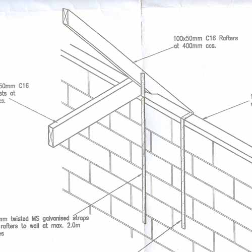 Self Build House Extension Roof Design