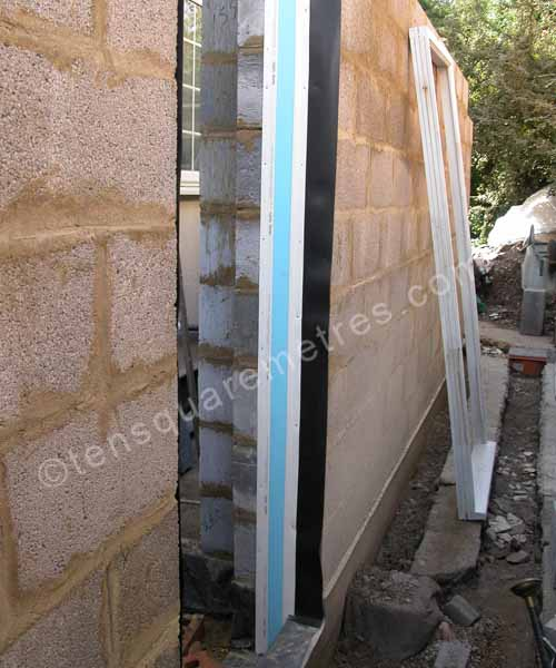 Self Build House Extension Walls Openings